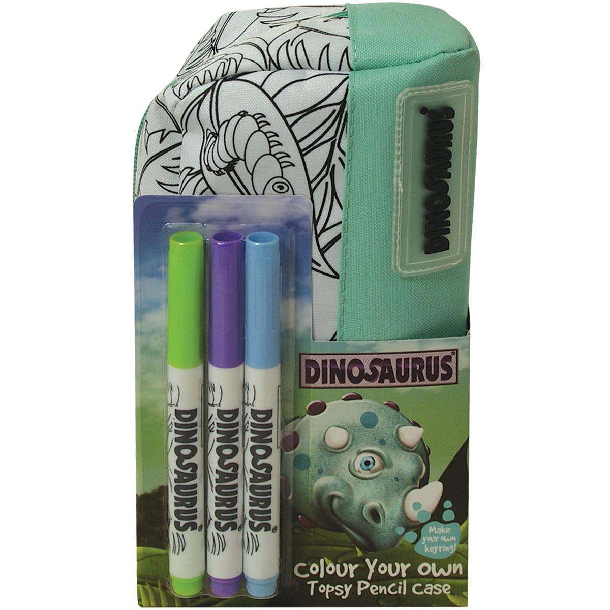 Dinosaurus Pencil Case-Topsy