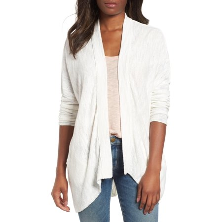 Drop Shoulder Cardigan (Women's Plus Drop Shoulder Open Front Cardigan 3X)