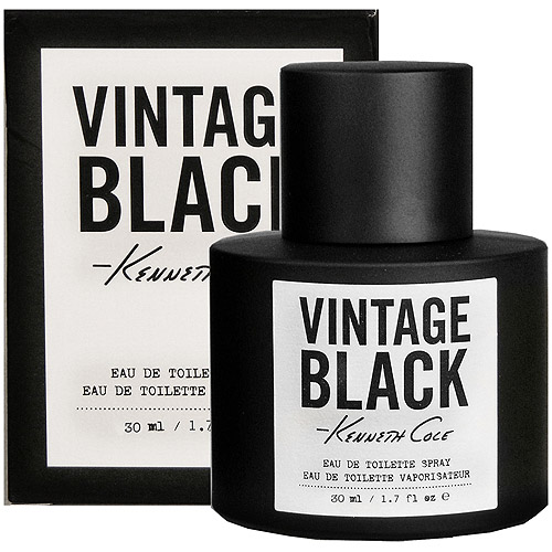 Kenneth Cole Vintage Black Eau de Toilette Spray, 1.7 fl oz