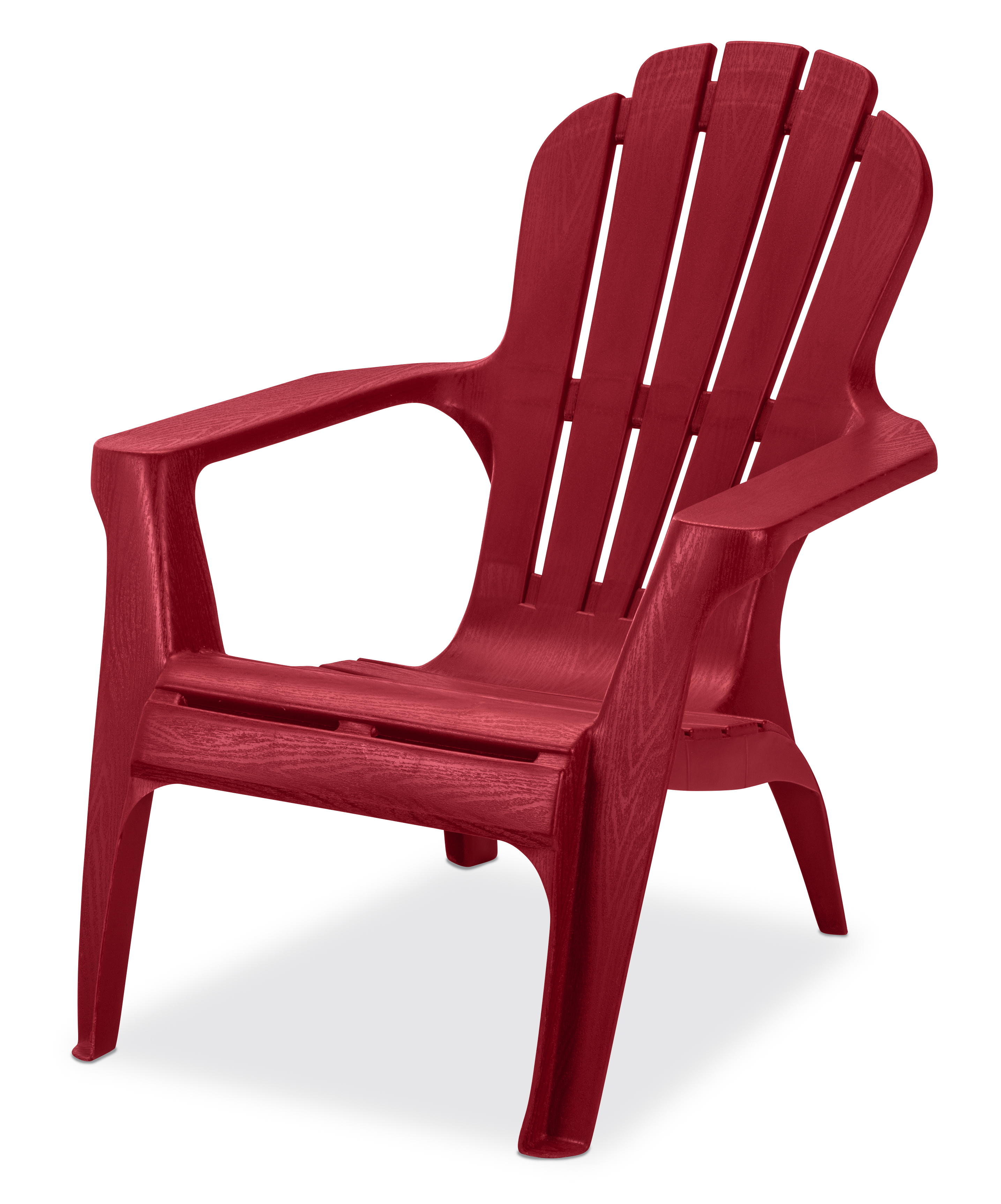 Superieur Product Image US Leisure Resin Adirondack Chair   Plastic Patio Furniture,  Red