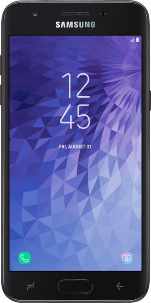 Virgin Mobile Samsung J3 Achieve 16GB Prepaid Smartphone, Black