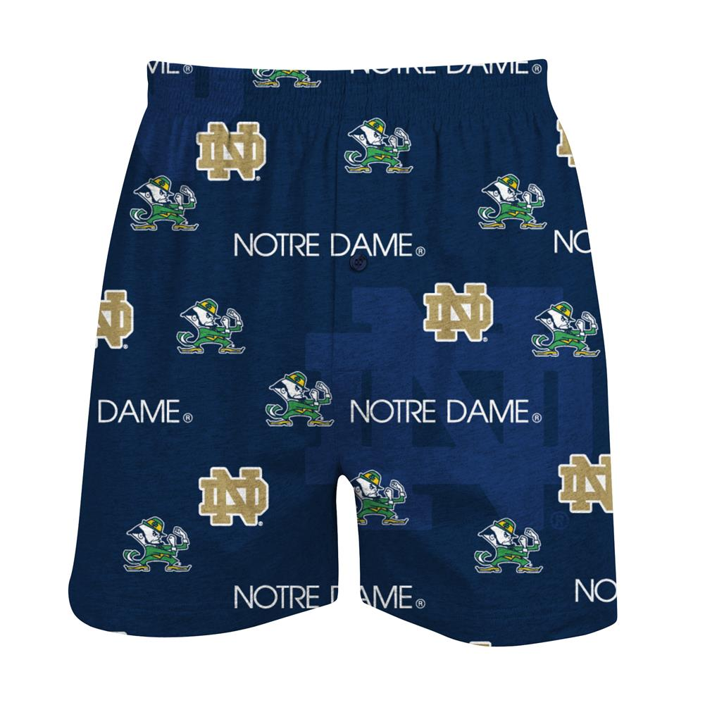 Notre Dame Fighting Irish Men's Cotton Boxer Shorts