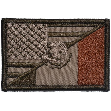 Mexico / USA Flag - 2x3 Patch - Venezuela Flag Patch