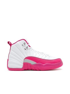 c6de7fdcb5f Product Image Nike Air Jordan 12 Retro GG White/Vivid Pink-Silver  Basketball Shoes