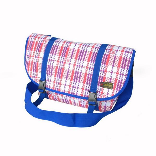 Metropolis Style - RWB Multi-Purposes Messenger Bag / Shoulder Bag - image 1 de 1
