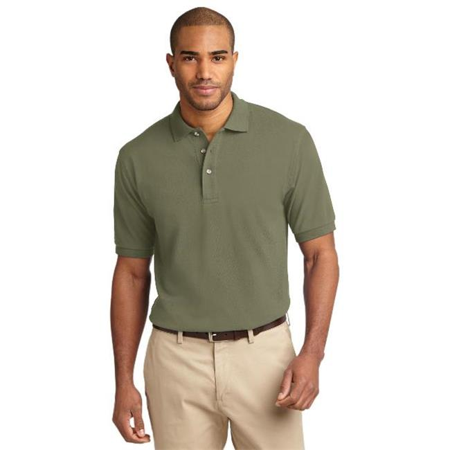 Port Authority® Heavyweight Cotton Pique Polo.  K420 Faded Olive Xl - image 1 de 1