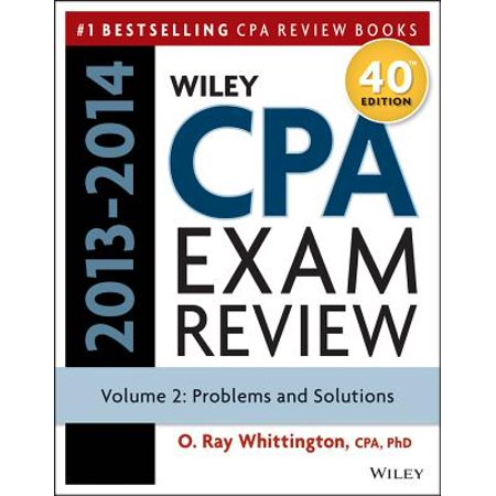 Wiley CPA Examination Review 2013-2014, Problems and