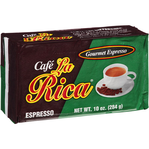 Cafe La Rica Gourmet Ground Espresso Coffee, 10 oz