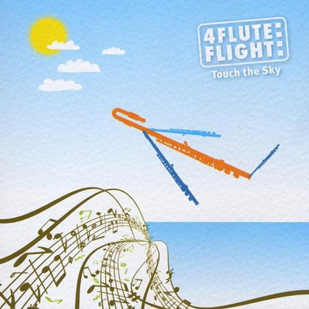 4 Flute Flight   Touch The Sky  Cd