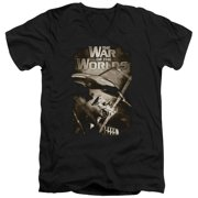 The War Of The Worlds Death Rays Mens V-Neck Shirt
