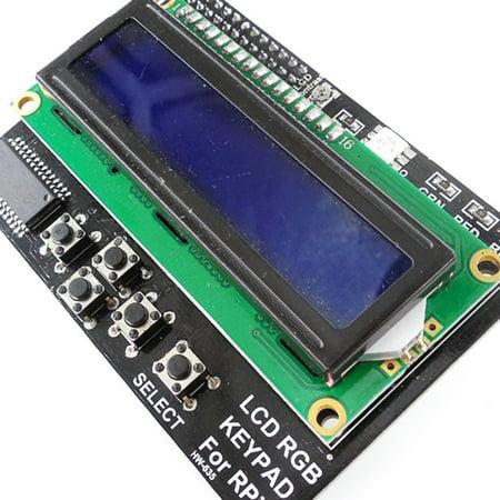 HW-535 Raspberry Pi 1602 LCD Button RGB Display Expansion