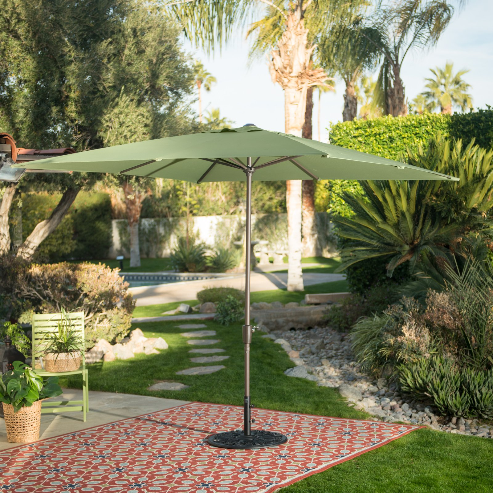 Belham Living 8.2 ft. Square Patio Umbrella