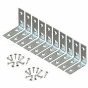 "Wideskall® 1.5"" inch Corner Brace Angle Repair Bracket w/ Screws (Pack of 10)"