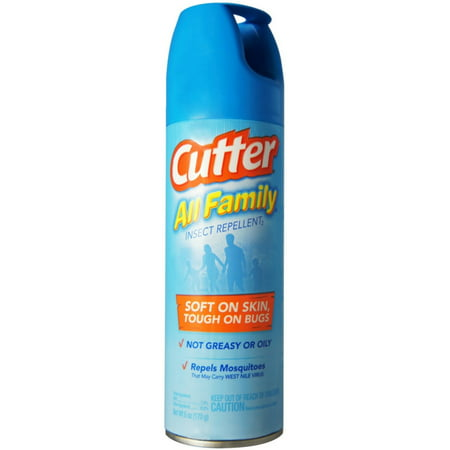 3 Pack - Cutter All Family Insect Repellent Aerosol 6 oz