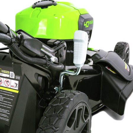 Greenworks G-MAX 20-Inch 40V Cordless 3-in-1 Lawn Mower with Smart Cut Technology, 4Ah Battery and Charger Included MO40L410