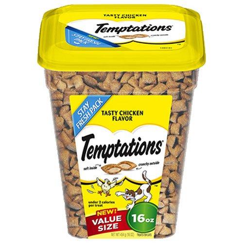 Classic Cat Treats 16 oz., USA, Brand Temptations by