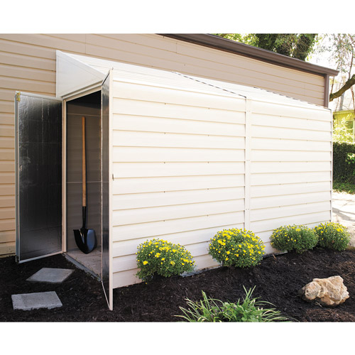 4' x 10' Yardsaver Steel Arrow Shed