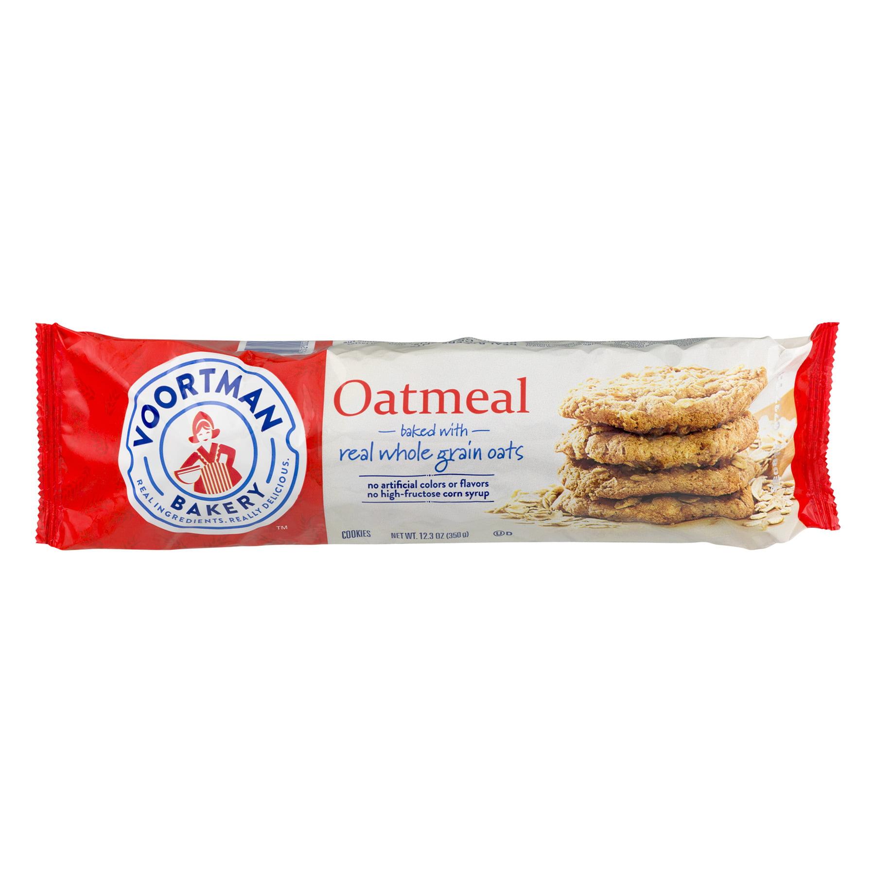 Voortman Bakery Oatmeal Cookies, 12.3 Oz.