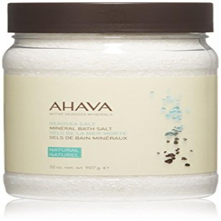 Ahava Deadsea Salt Mineral Bath Salt Natural, 32 Oz