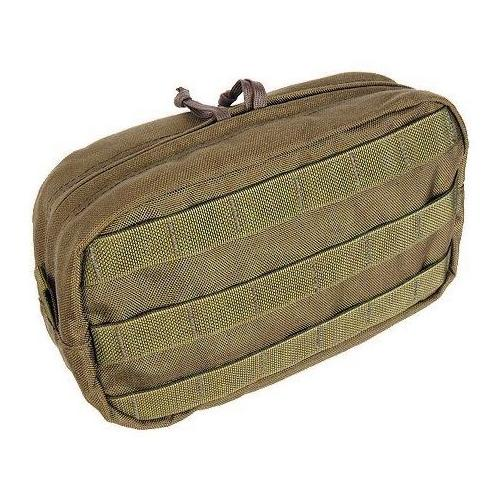 Tactical Assault Gear MOLLE Utility Horizontal Pouch, Coyote Tan 811981