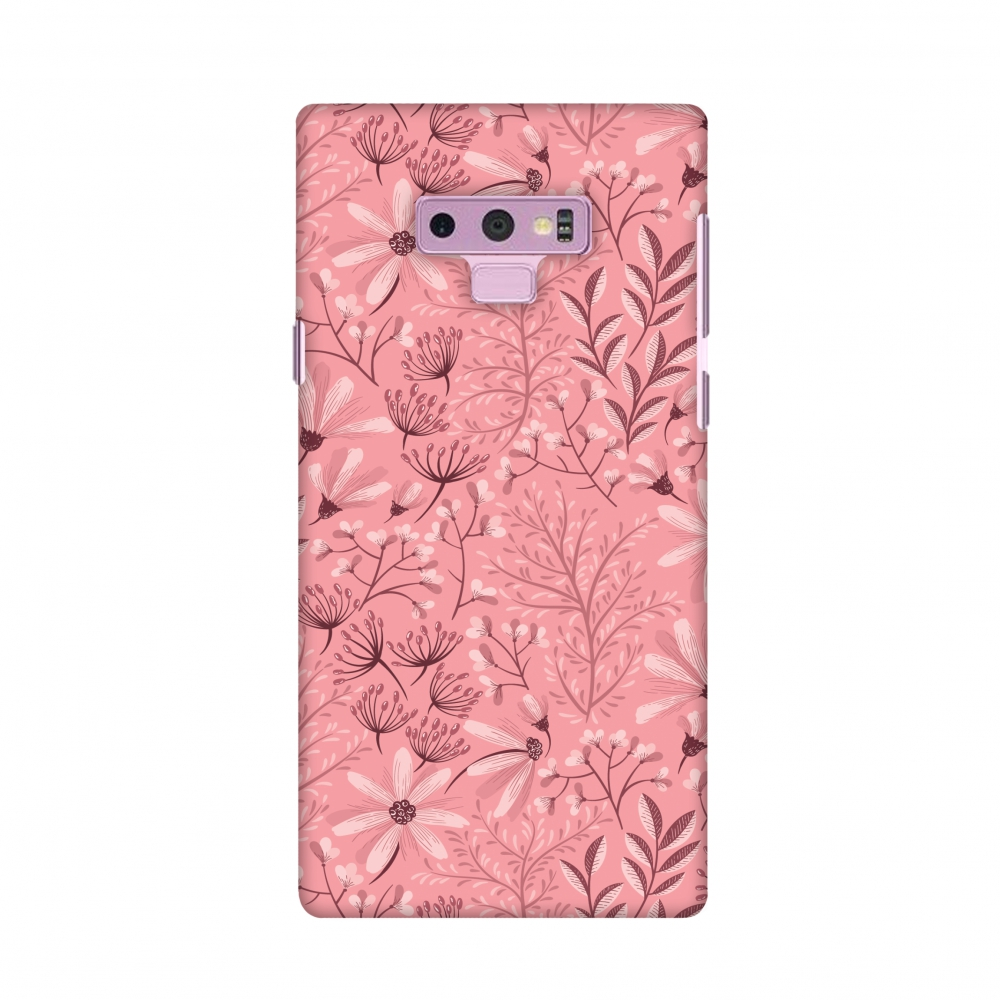 Samsung Galaxy Note9 Case, Premium Handcrafted Designer Hard Shell Snap On Case Shockproof Printed Back Cover for Samsung Galaxy Note9 - Pretty Flowers 3