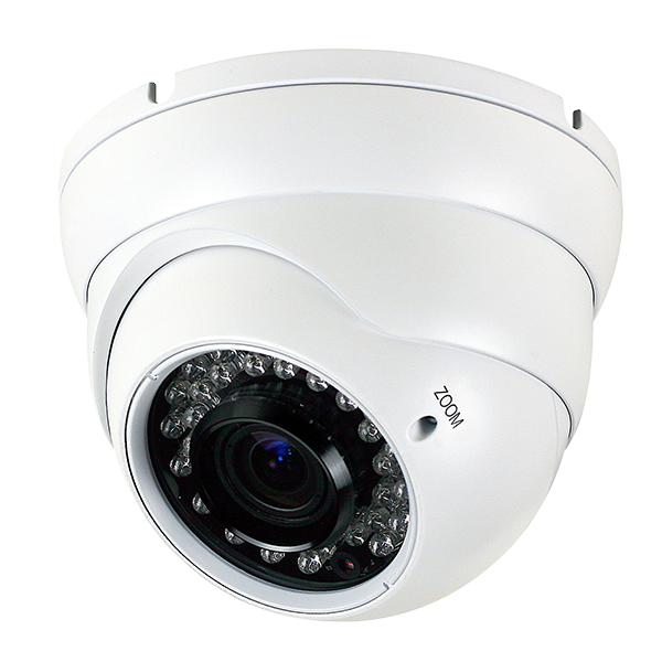 CMHT2023R Platinum HD-TVI Varifocal Turret Camera 2.1MP - White