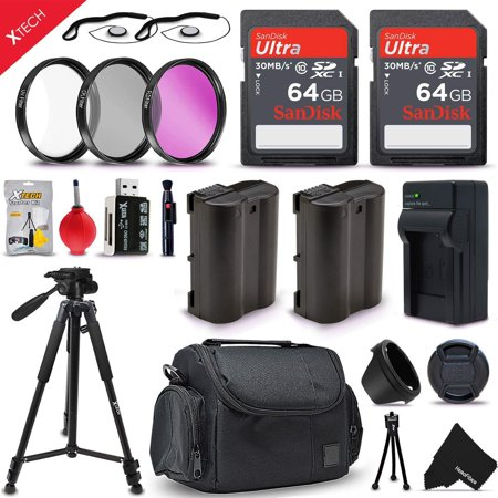 Professional Accessories Bundle Kit for EOS 80D, 70D, 60D, 60Da, EOS R, 5D  Mark II, 5D Mark III, 5D Mark IV, 6D, 7D Mark II, 5DS, 5DSR DSLR Cameras
