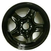 "Road Ready Replacement 17"" Black Steel Wheel Rim 2010-2012 Ford Fusion 2010-2011 Mercury Milan"