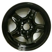 "Road Ready Replacement 17"" Black Steel Wheel Rim 2010-2012 Ford Fusion 2010-2011 Mercury Milan"