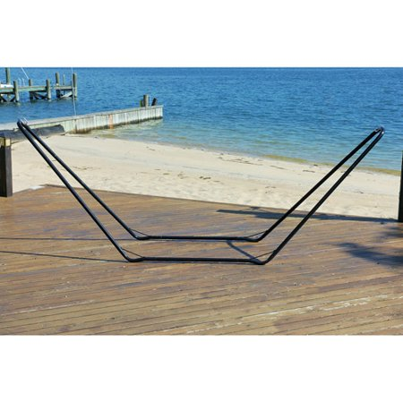 10 steel hammock stand black