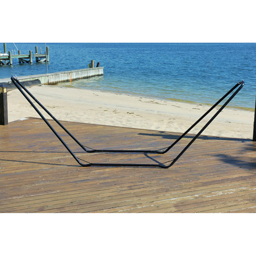 10' Steel Hammock Stand, Black