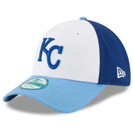 - Kansas City Royals New Era Perfect Block 2 9FORTY Adjustable Hat - White - OSFA
