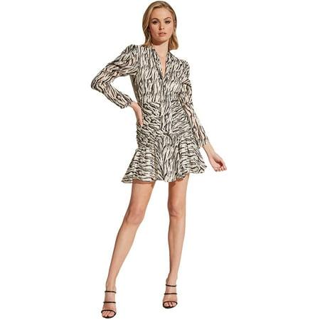 His And Hers Fancy Dress Halloween (Bardot Women's Zebra Printed)