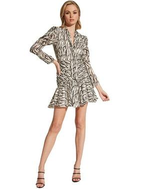 Bardot Women's Zebra Printed Dress