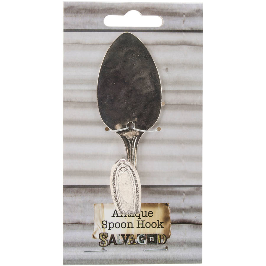 Salvaged Antique Spoon Hook
