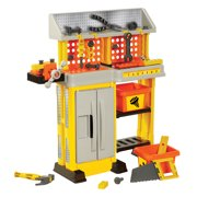 IMAGINE that! Little Builder Work Bench Pretend Play Toy Playset - 38 Piece
