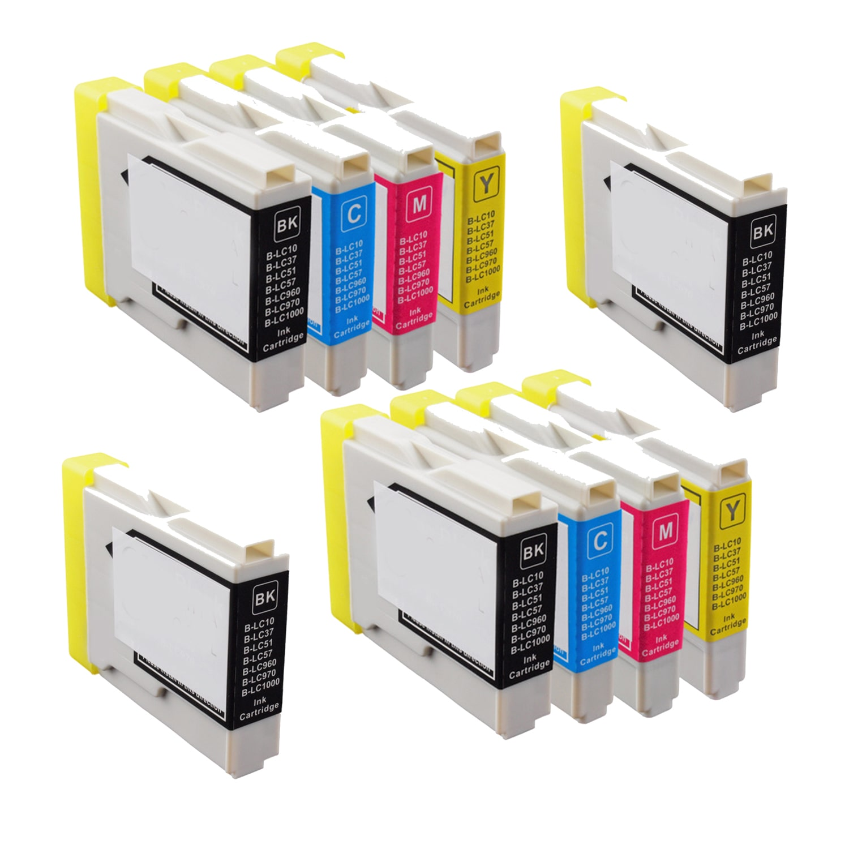 N Global CO. 2Sets+2BK LC51 BK C Y M Compatible Ink Cartr...