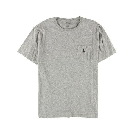 Ralph Lauren Mens Pocket Basic T-Shirt darkvinta L