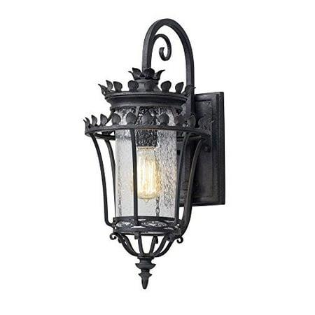 Troy Lighting B5131 Greystone - One Light Small Outdoor Wall Lantern Forged Iron