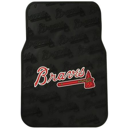 Atlanta Braves Mat - Atlanta Braves Two Piece Front Car Mats - No Size