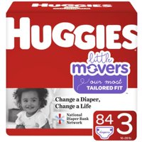 Huggies Little Movers Super Pack Size 3; 84ct