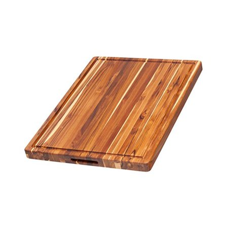 Proteak 108 Edge Grain Board with Juice Groove 24 x 18 x 1.5 ()