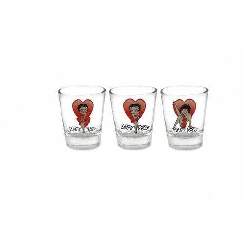 Betty Boop Shot Glass Set