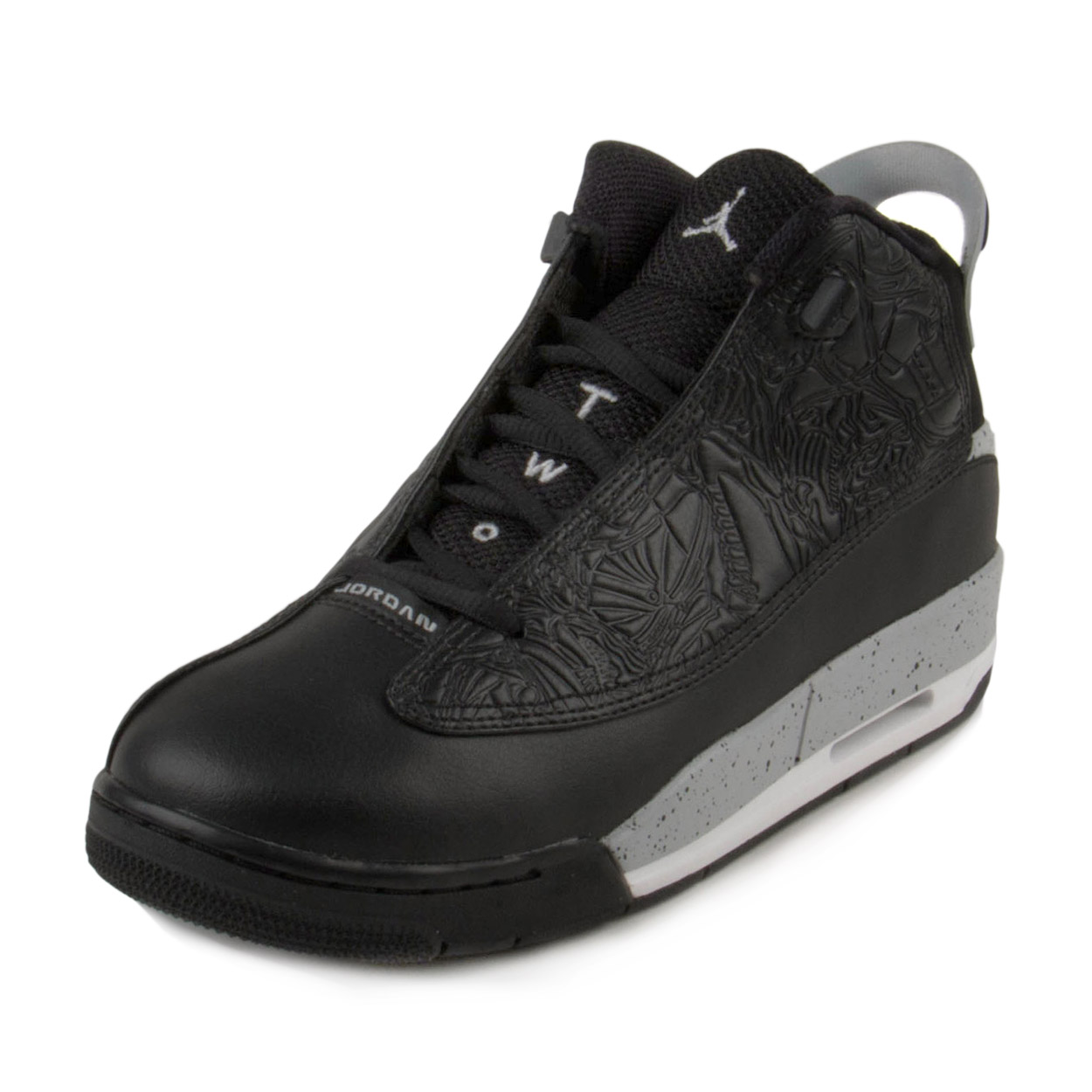 Nike Boys Air Jordan Dub Zero BG Black/Wolf Grey 311047-002