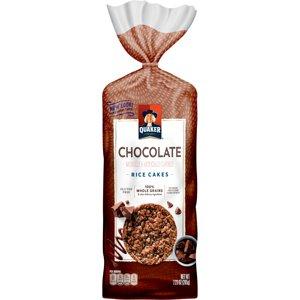 Quaker Rice Cakes, Chocolate Crunch, 7.23 oz Bag