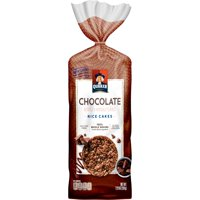 Quaker Gluten-Free 100% Whole Grains Chocolate Flavored Rice Cakes, 7.23 Oz.