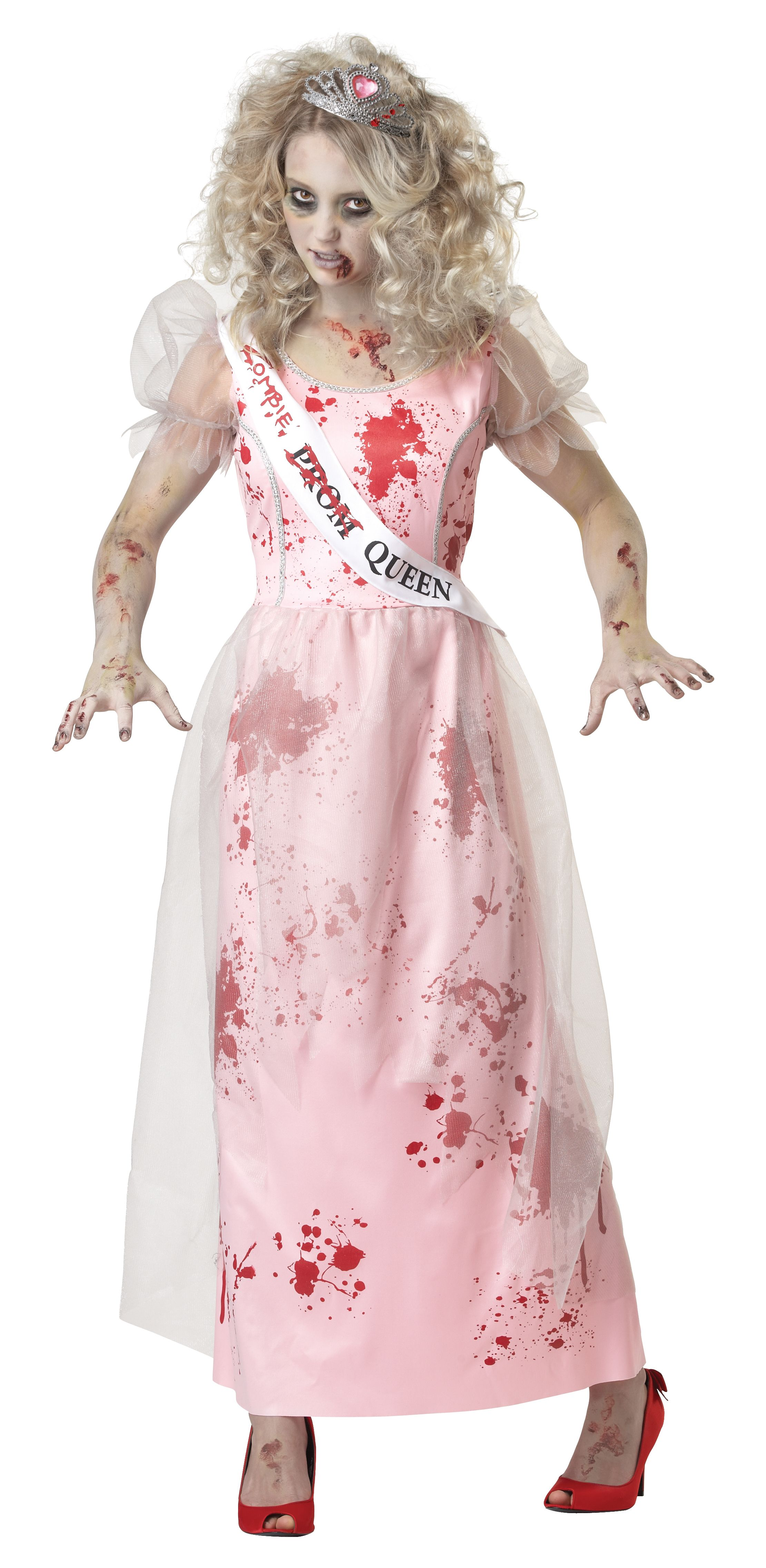 Adult Female Prom Zombie Queen Costume by California Costumes 1595 ...