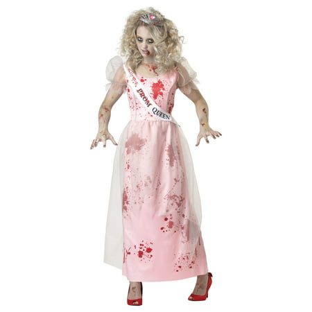 Adult Female Prom Zombie Queen Costume by California Costumes 1595 - Zombie Prom Queen