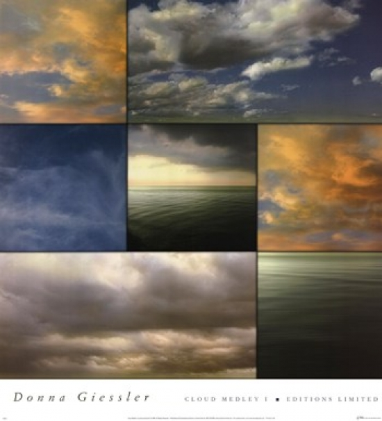 Cloud Medley I Poster Print by Donna Geissler (18 x 20)