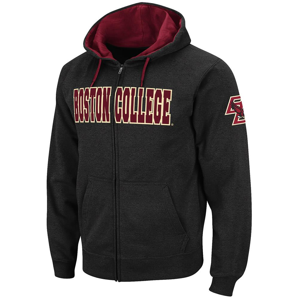 Mens Boston College Eagles Full Zip Hoodie - 2XL
